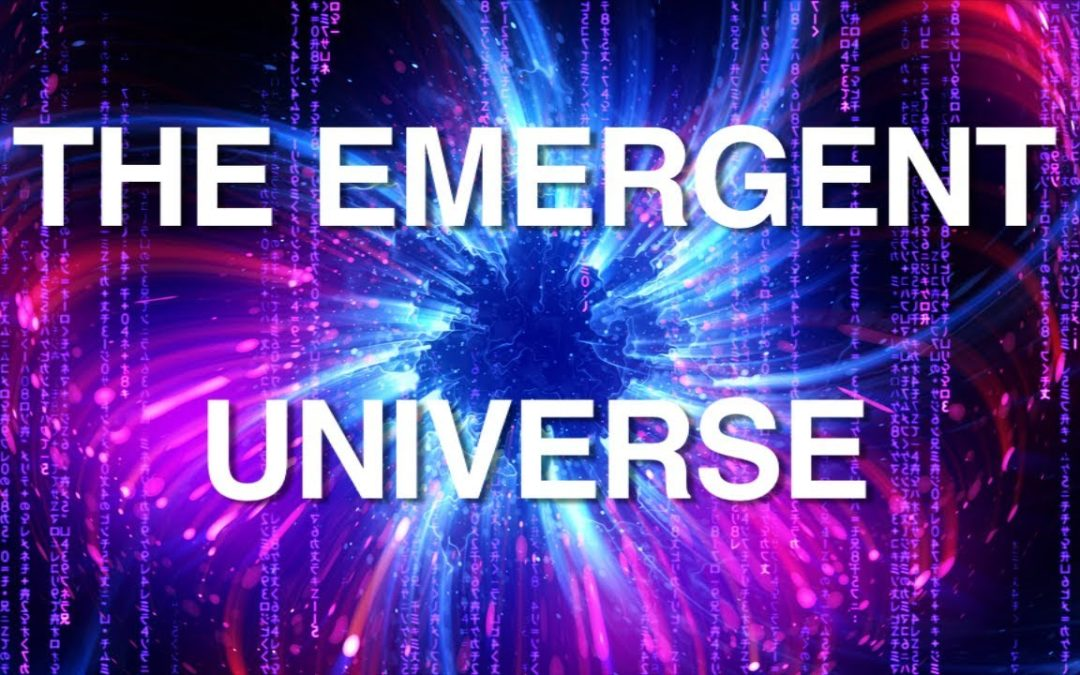 Cold hard Data shows we are living in an Emergent Universe